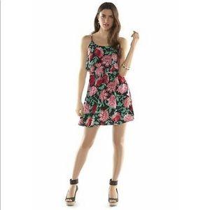 Elle floral popover dress